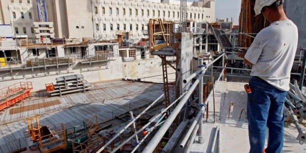 Dans la construction, le nombre d'emplois intérimaires a retrouvé des niveaux similaires à ceux de 2008.