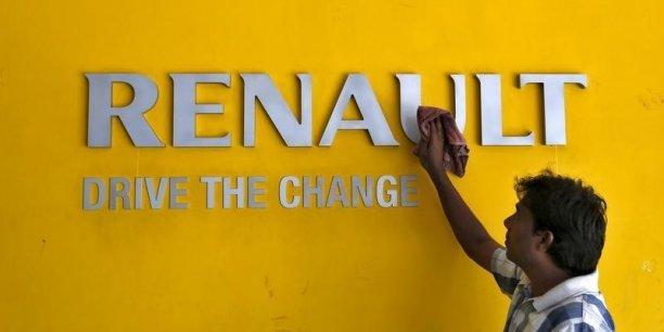 Renault est la marque française qui a le plus progressé en 2015.