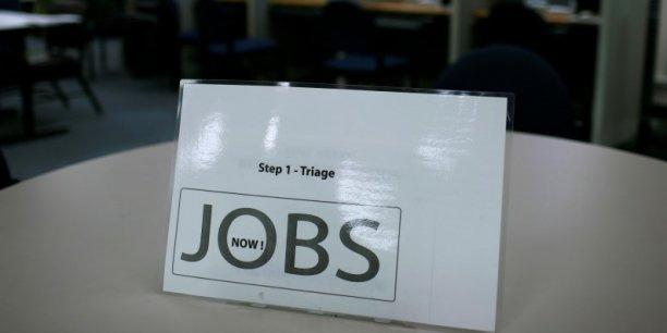 Jamais les demandes d'allocations au chômage n'ont été aussi faibles depuis 42 ans.