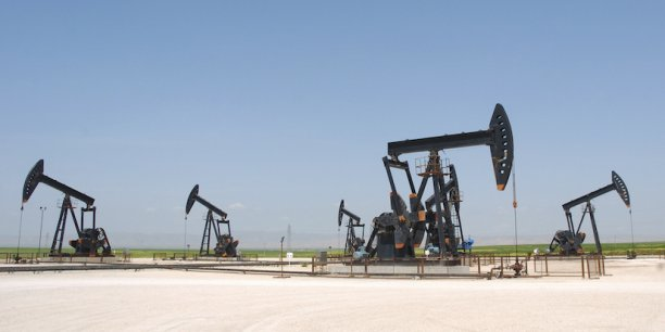 Exploitation du pétrole sur le site de al-Jibssa en 2010.