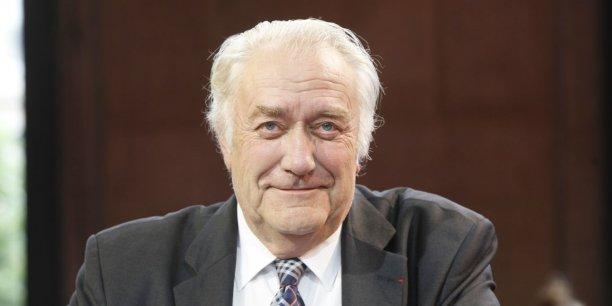 Jean-Paul Bachy, président (divers gauche) de la région Champagne Ardennes
