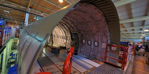 Usine Airbus-Daher à Saint-Nazaire