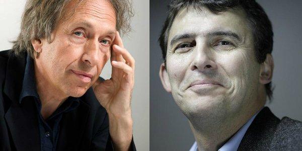 De gauche à droite, Pascal Bruckner et Éric Fassin