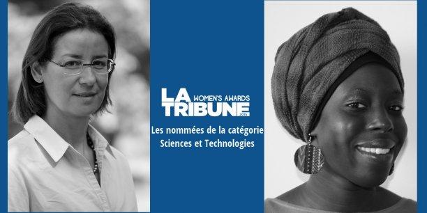 Mériam Chèbre, à gauche, et Fatoumata Kebe ont toutes deux des parcours, des valeurs et des engagements remarquables.