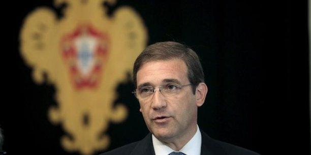 Le premier ministre portugais, Pedro Passos Coelho, est renversé.