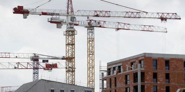 Le nombre de permis de construire est en forte hausse.