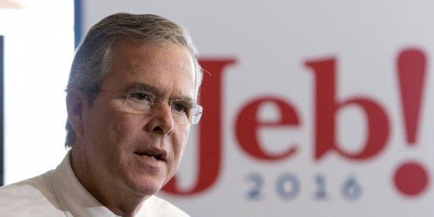 Jeb Bush est acculé face à des sondages catastrophiques.