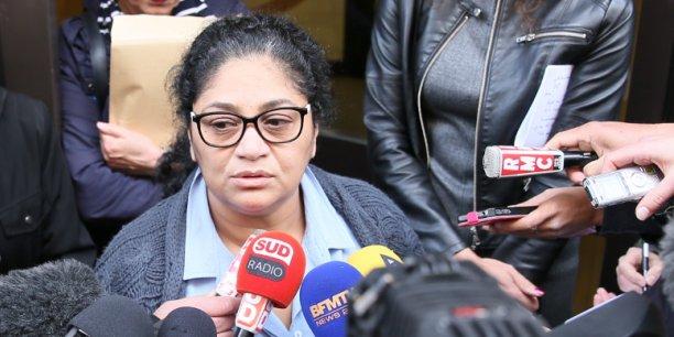 Thouraya Ferchichi, déléguée syndicale de Fram, annonce la cessation de paiement.