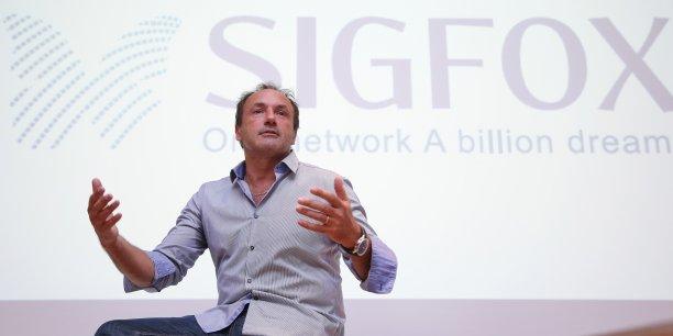 Le patron de Sigfox, Ludovic Le Moan, confie à La Tribune sa nouvelle feuille de route pour son réseau bas débit dédié à l'Internet des Objets (IoT).