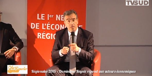 Dominique Reynié a déroulé l'ensemble de ses propositions face à un panel de 12 décideurs, le 3 novembre