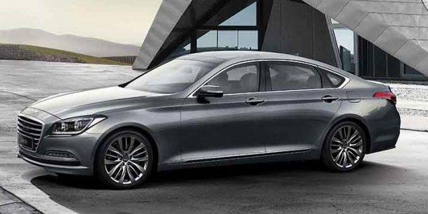 La berline Genesis va être exfiltrée du catalogue Hyundai pour servir de pierre fondatrice d'une nouvelle marque premium.