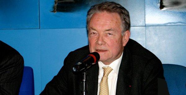 Le Professeur Jean-Louis Reiffers, Président du Comité Scientifique de l'Institut de la Méditerranée (Marseille).