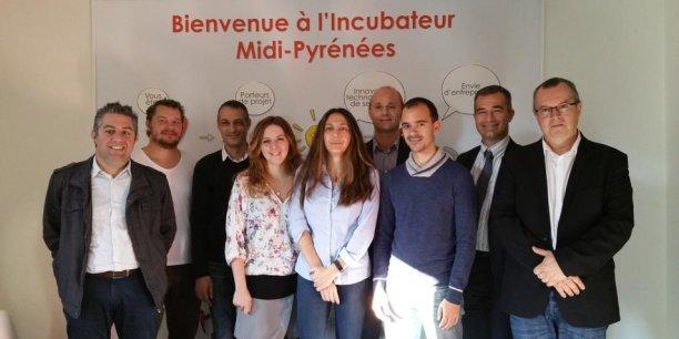 Nouvelle promotion à l'Incubateur Midi-Pyrénées