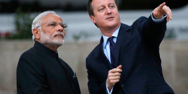 En 2010, David Cameron avait promis de doubler en cinq ans les échanges avec l'Inde.