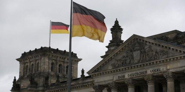 Le PIB allemand a crû de 0,3 % au troisième trimestre.