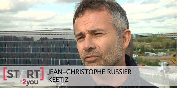 Keetiz, basée au BIC de Montpellier, est accompagnée par Start2You