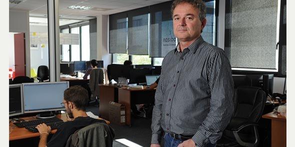 Laurent Taton a créé Nosibay et sa filiale Mood Edition à Montpellier