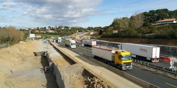 Des aménagements paysagers aux abords de l'autoroute A63 entre Biriatou et Biarritz sont prévus après l'arrachage de centaines d'arbres.