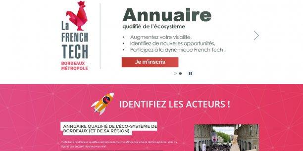 Le site comprend de nombreuses informations sur l'écosystème French Tech local.