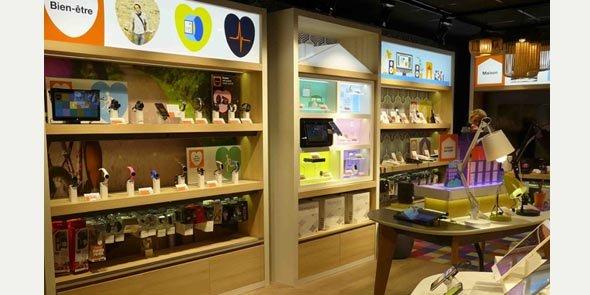 orange ouvre son 1er smart store dans la grande r gion. Black Bedroom Furniture Sets. Home Design Ideas