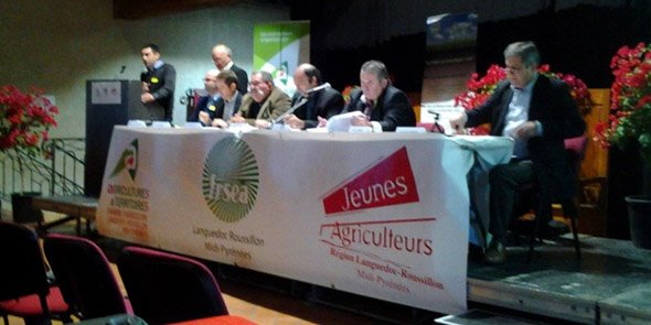 Les agriculteurs auditionnent les candidats aux r gionales for Chambre d agriculture 13 organigramme