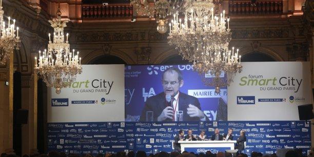 Une vue du Forum Smart City du Grand Paris, à l'Hôtel de ville.