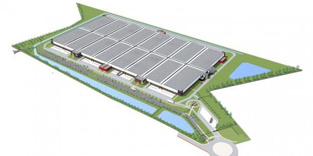 La plateforme logistique de 100 000 m2 sera dédiée à Maisons du Monde
