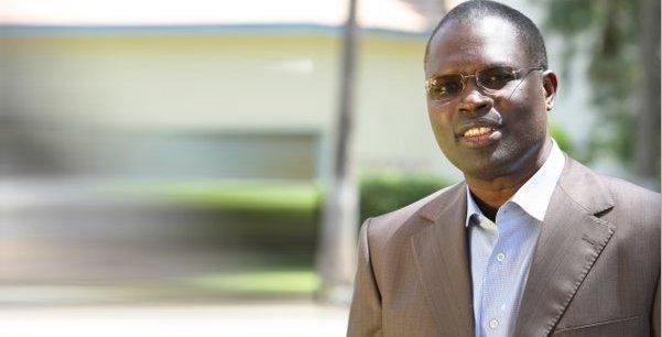 Khalfa Sall, maire de Dakar.