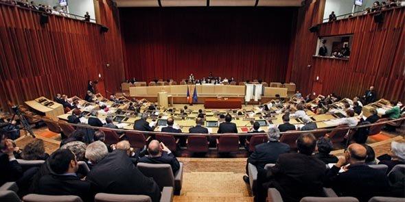 L'hémicycle du Conseil régional, à Toulouse