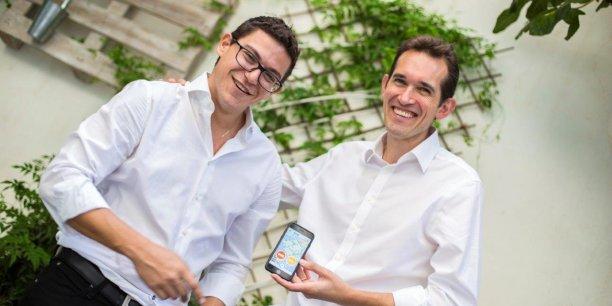 Jonathan Konchier et Henri Lefebvre, deux Marseillais trentenaires, espèrent imposer Qwidam comme la plateforme de référence d'aide citoyenne.