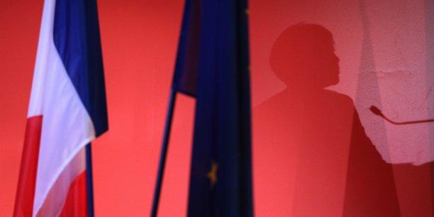 Lors du meeting de Carole Delga salle Mermoz le 2 décembre