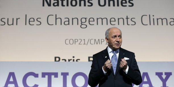 Les choses sérieuses commencent pour Laurent Fabius, qui préside la COP21: en chef d'orchestre, c'est lui qui mènera dès lundi les travaux des ministres.