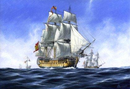 Le galion San Jose a été coulé en 1708 lors d'un affrontement avec les forces navales britanniques au cours de la bataille de Baru, pendant le guerre de succession d'Espagne (1701-1712).