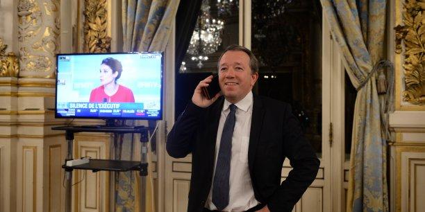 Christophe Boudot, tête de liste du FN en Auvergne Rhône-Alpes le 6 décembre lors du 1er tour des régionales