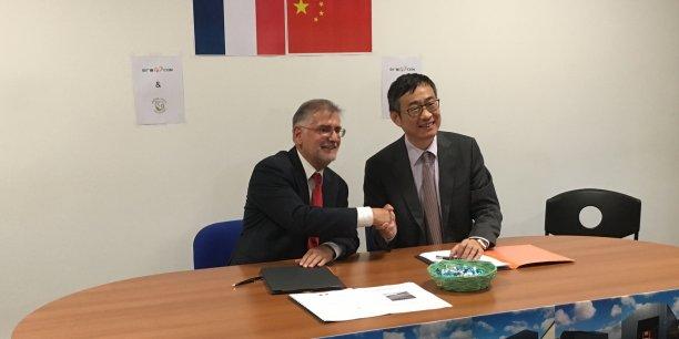 En signant avec le chinois CGN EE dirigé par Wei Lu, la PME girondine ICD de Johnny Schlosmacher  tient sans doute son contrat du siècle et un formidable challenge