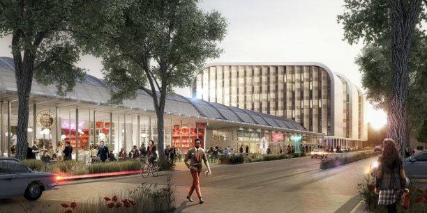 Bordeaux eiffage acquiert l ancienne halle de l abattoir for Appartement bordeaux euratlantique