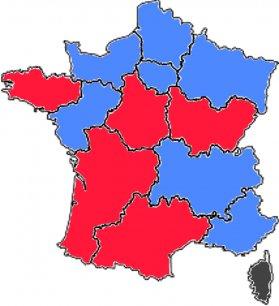 Le Front National ne présidera aucune des régions françaises.
