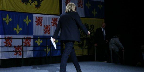 Arrivée en tête au premier tour dans le Nord-Pas-de-Calais, Marine Le Pen a finalement échoué à l'issue de ce scrutin régional. Avec 57,77 % des voix, selon le décompte définitif, la liste d'union de la droite de Xavier Bertrand l'a devancée de plus de quinze points.