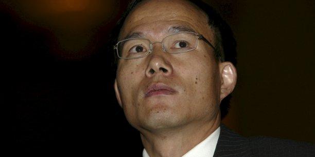 Guo Guangchang, milliardaire de 48 ans et emblématique figure des milieux d'affaires chinois, était disponible lundi matin et animait l'assemblée annuelle des actionnaires de Fosun.