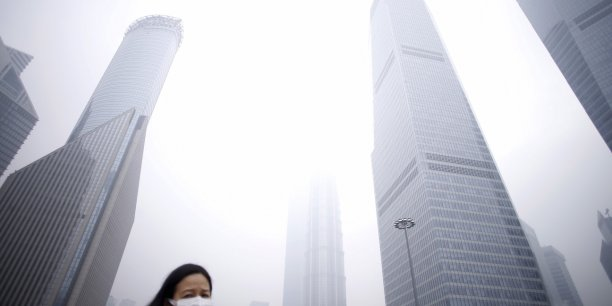 La pollution à Shangai.