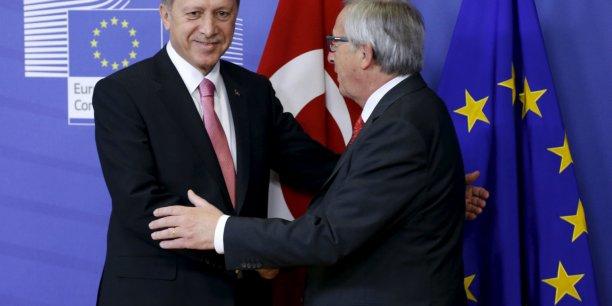 Six milliards d'euros, c'est la compensation financière octroyée par l'UE à la Turquie pour l'accueil des réfugiés sur son territoire.