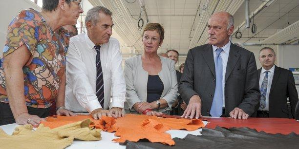 Alain Rousset (au 1er plan à droite) va devoir faire face à plusieurs défis en tant que président du nouvel ensemble Aquitaine Limousin Poitou-Charentes