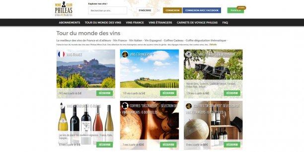 Le caviste caviste en ligne Phileas Wine Club revendique 8.000 clients et 5.000 abonnés à sa box mensuelle.