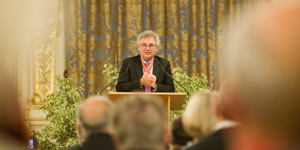 Alain Audouard, président de la Chambre de métiers et de l'artisanat du Rhône.