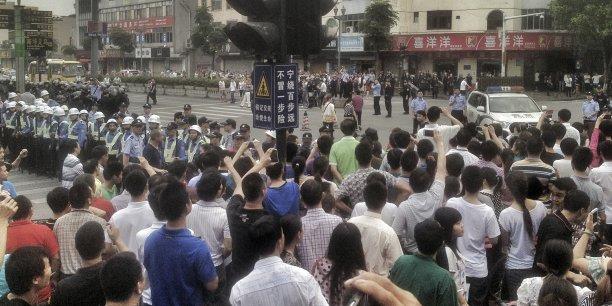 Chine: le nombre de grèves a doublé en un an
