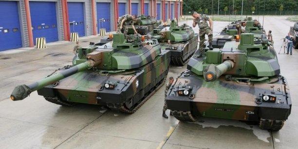 Le constructeur du char Leclerc (Nexter) se rapproche de celui qui fabrique le Leopard (Krauss-Maffei Wegmann)