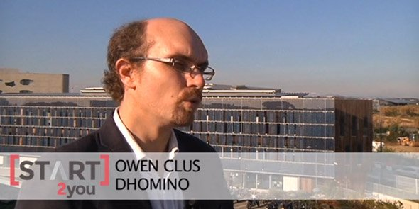 Owen Clus dirige la société Dhomino, accélérée par Start2You.
