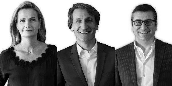 Clotilde Doré, Christophe Tellier et Michel Tobelem