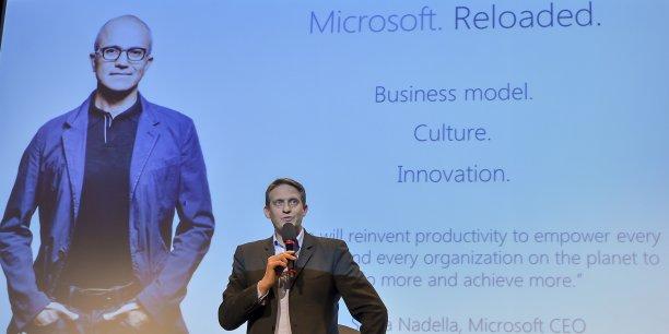 Nicolas Gaume participait hier soir à l'événement Biznext Bordeaux.