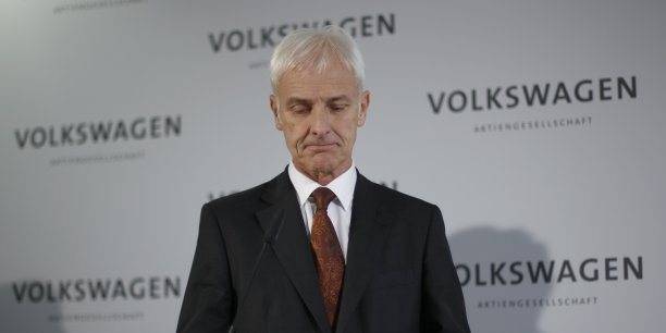 Matthias Müller ne veut plus que la course à la taille soit le premier objectif de Volkswagen.